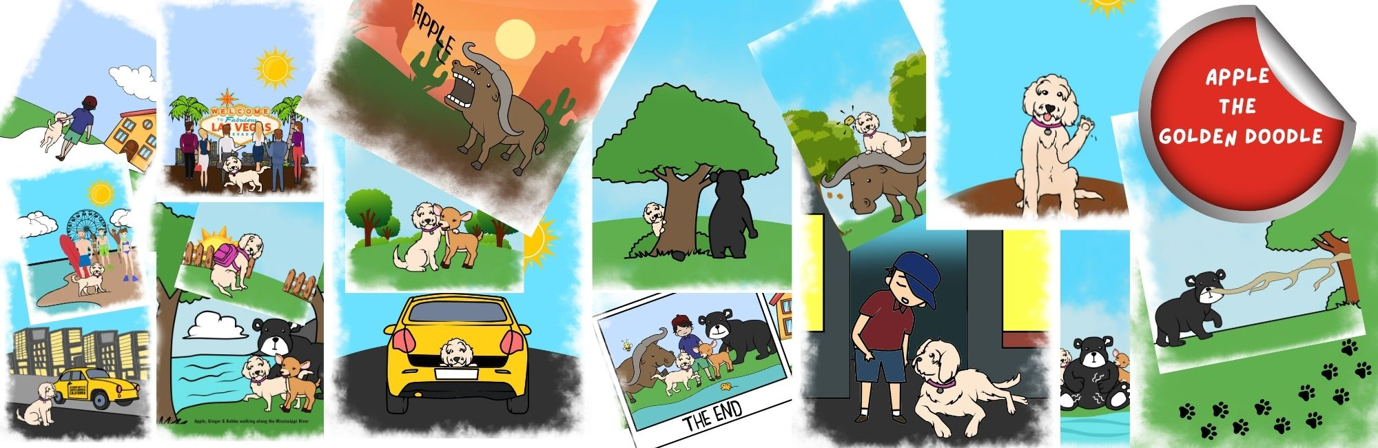 picture of the In search of a family full color version banner
