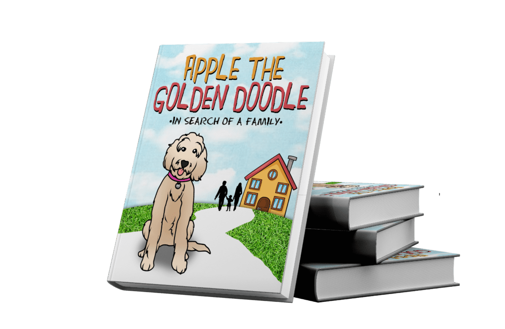 picture of apple the golden doodle book in search of a family